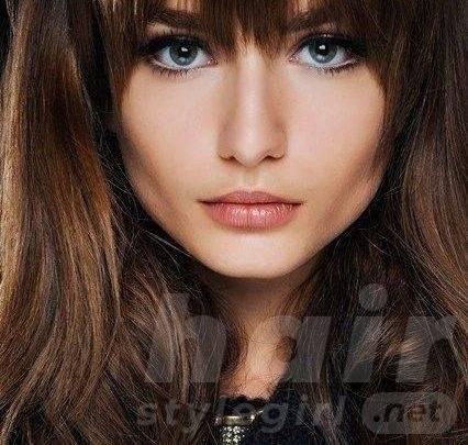 Full Fringe Hairstyle
