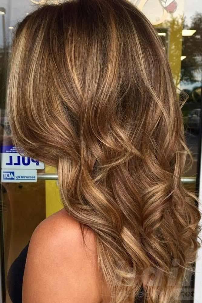 Subtle Balayage for Brown Hair