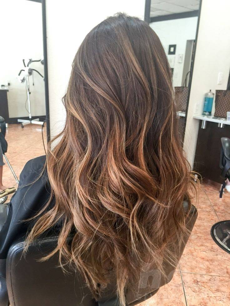 Trendy Balayage Hairstyle