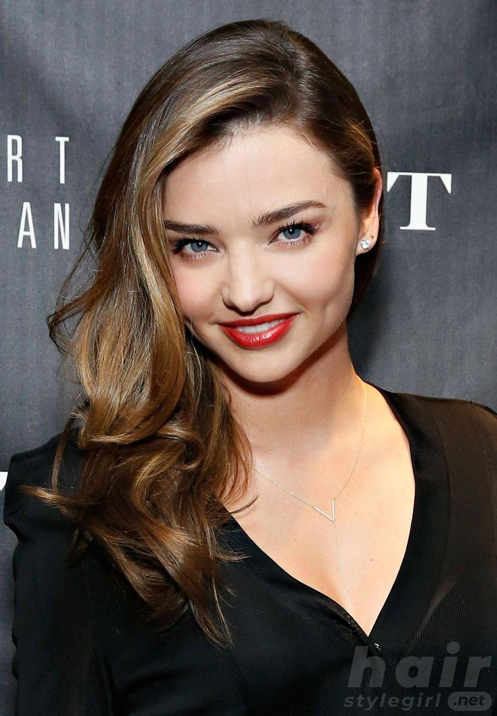 Miranda Kerr Balayage Highlight Hairstyle