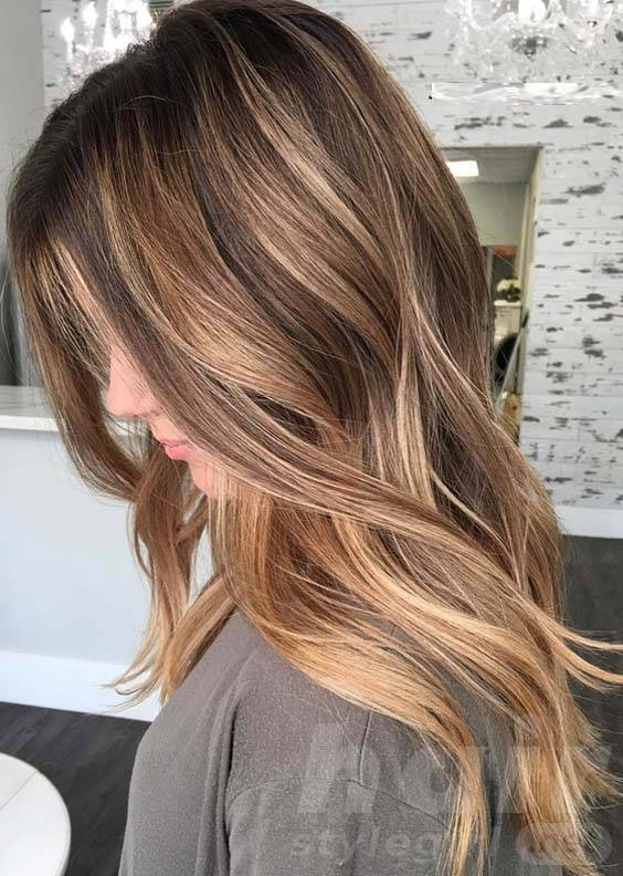 Incredible Balayage Hairstyle