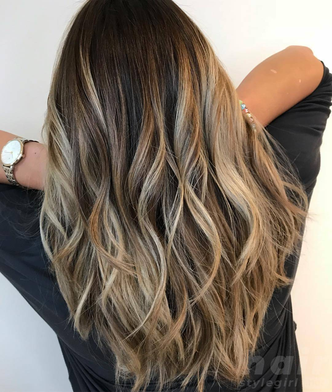 Layered Balayage Hairstyle