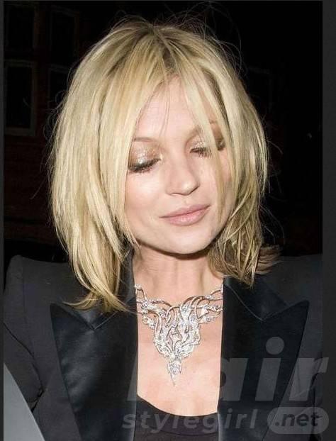 Blonde Short Shag Hairstyle