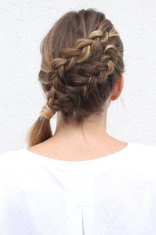 Diagonal Double Lace Braid