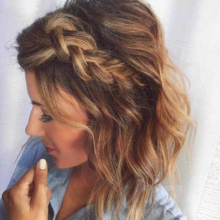 Braided Hairstyles For Short Hair Look More Beautiful With This Haircuts Hair Style