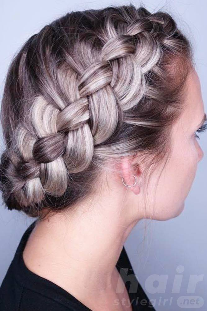 Braided Hairstyles For Short Hair Look More Beautiful With