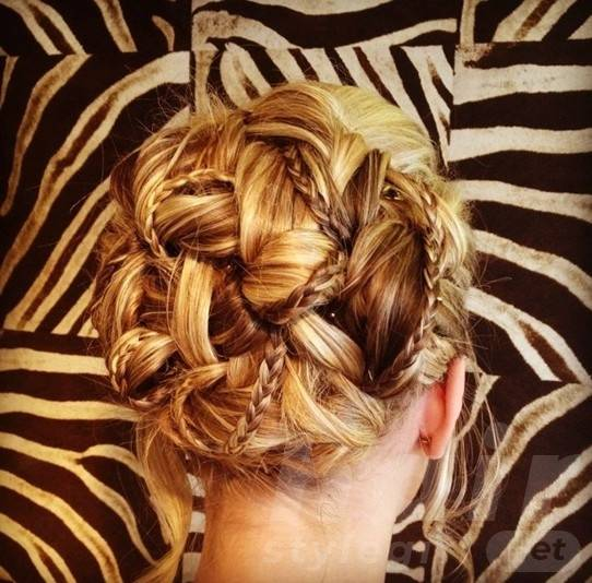 Swell Braided Updo Hairstyles Delicate Braided Updos For Prom Hair Style Schematic Wiring Diagrams Amerangerunnerswayorg