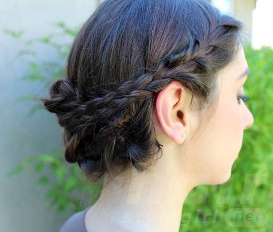Easy Braided Updo Hairstyles