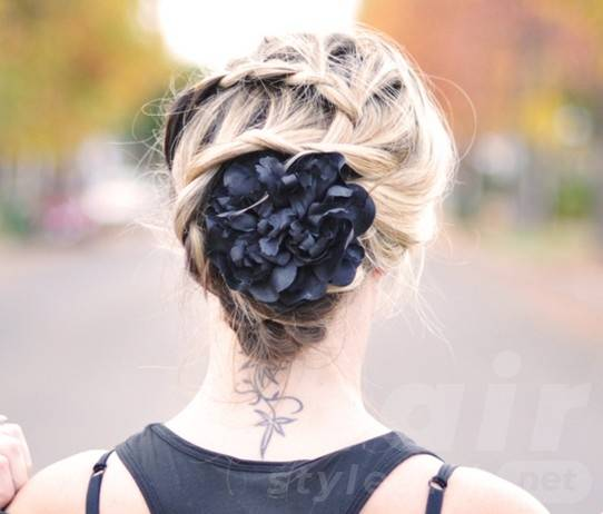 Braided Updos Hairstyles 2014