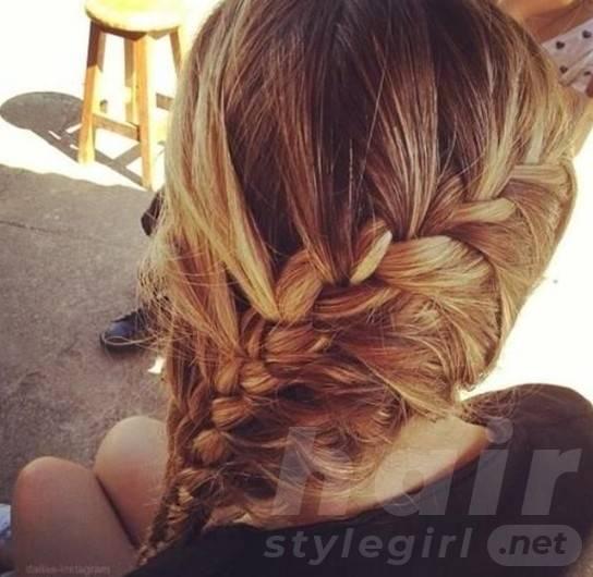 Ingenious Braiding Hairstyles 2014