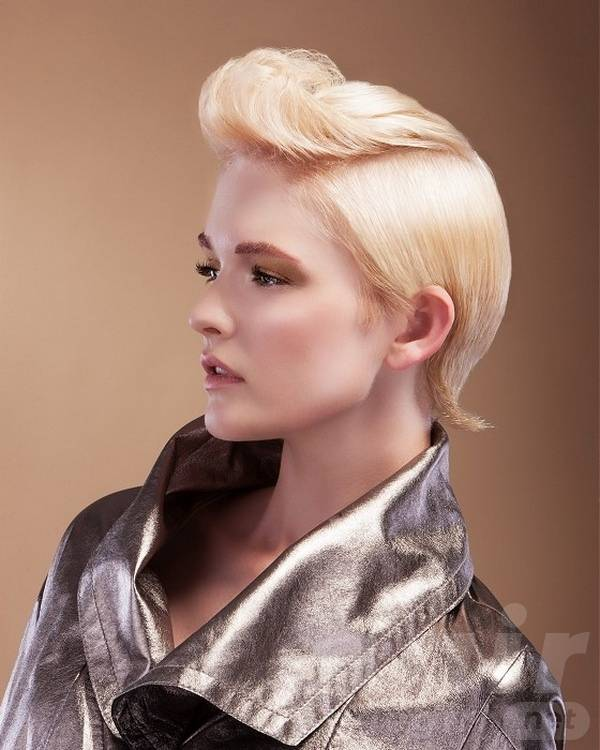 Short Party Hairstyle