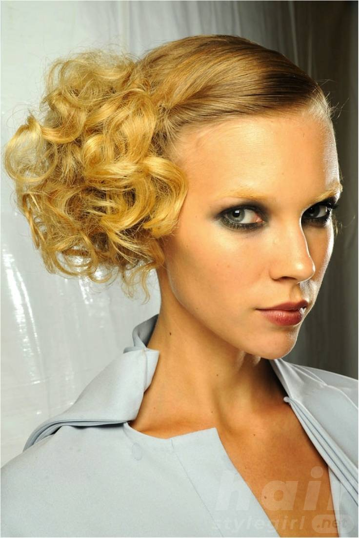 Stylish Party Hairstyle