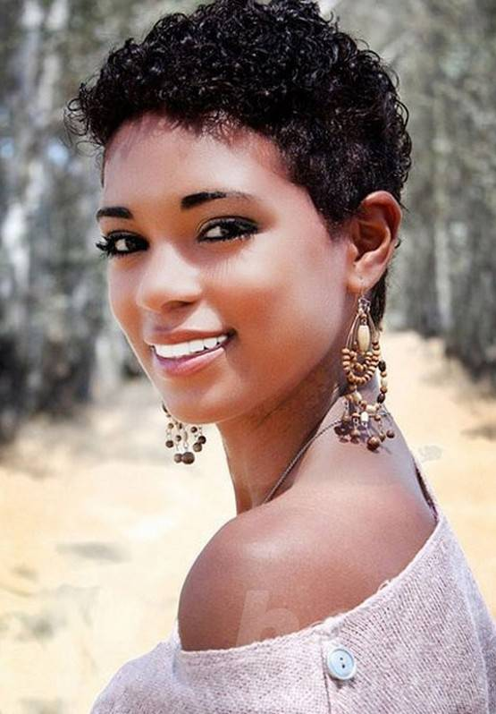 short curly haircuts for african american women