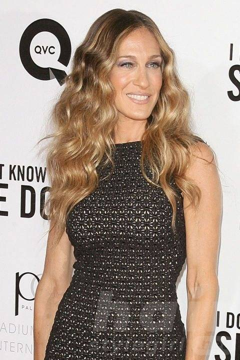Long Blonde Wavy Hair with Curls