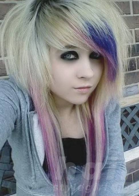 Scene Emo Hairstyles for Girls
