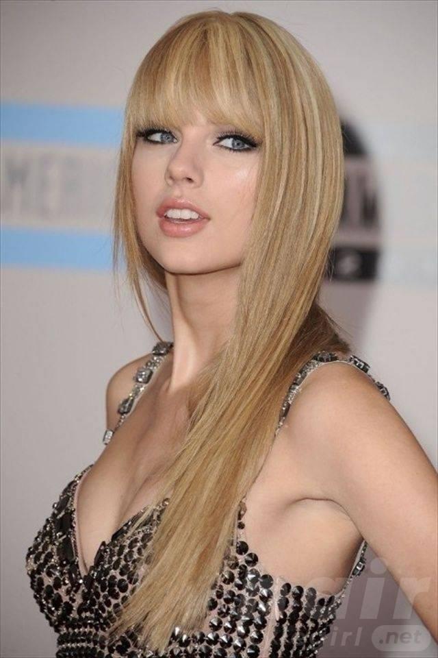 Platinum Long Hair with Bangs