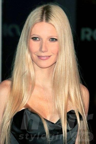 Platinum Long Straight Hair
