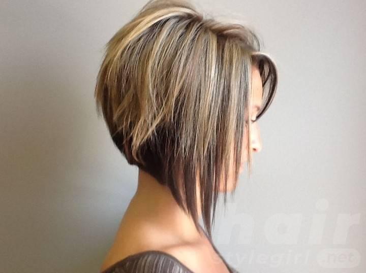 Side View of Graduated Bob Haircut - Cute Short Haircut 2014