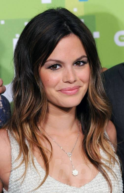 rachel-bilson-black-to-brown-ombre-hair