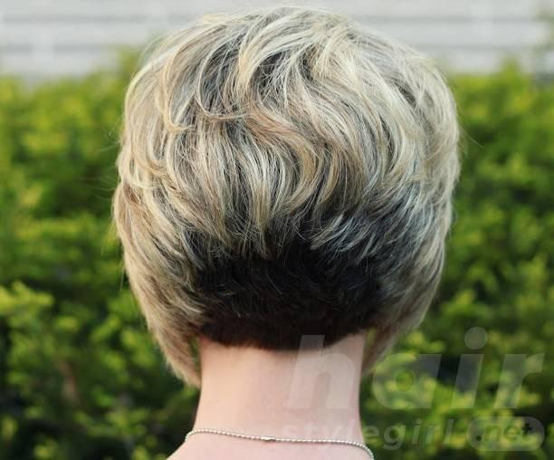 Stacked Short Layered Bob Hairstyles 53