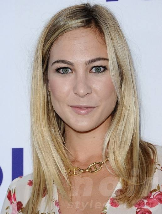 2014 Molly McQueen Long Hairstyles: Blonde Straight Hair