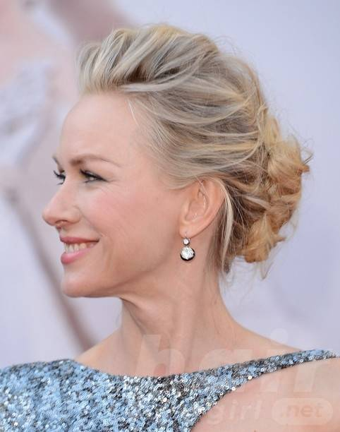 2014 Naomi Watts Hairstyles: Updo Hairstyle Ideas for Prom