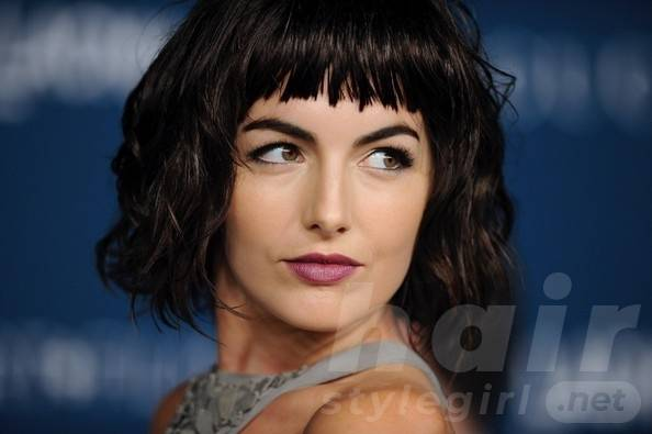 Camilla Belle Hairstyles with Bangs