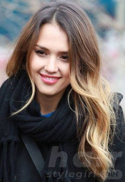 Jessica Alba Long Hairstyles: Stylish Loose Curls for Any Face Shape