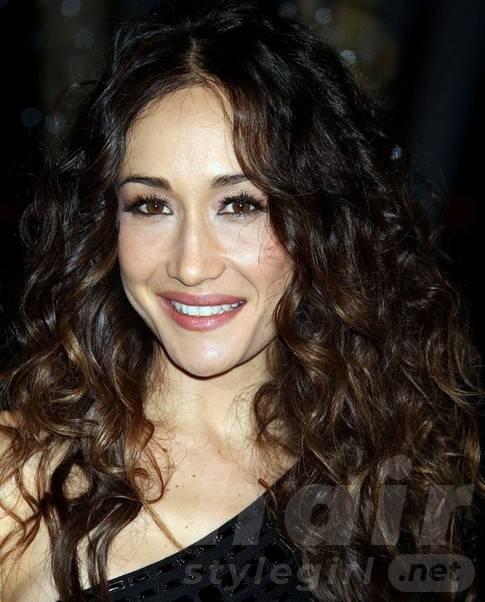 Maggie Q Hairstyles: Voluminous Long Curls