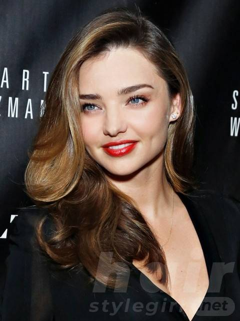 Miranda Kerr Long Hairstyles: Ombre Hair style