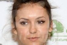 Nina Dobrev Classic Bun