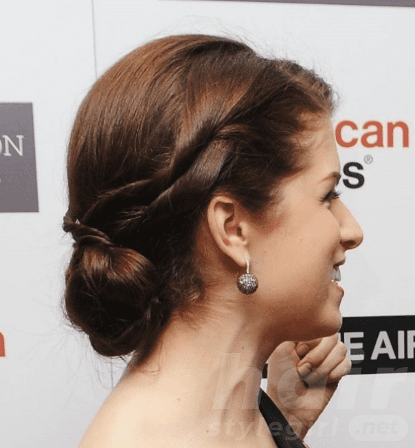 The Sleek Twisted Updo for Thin Hair