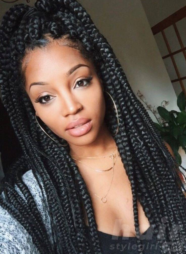 Box Braid Hairstyles