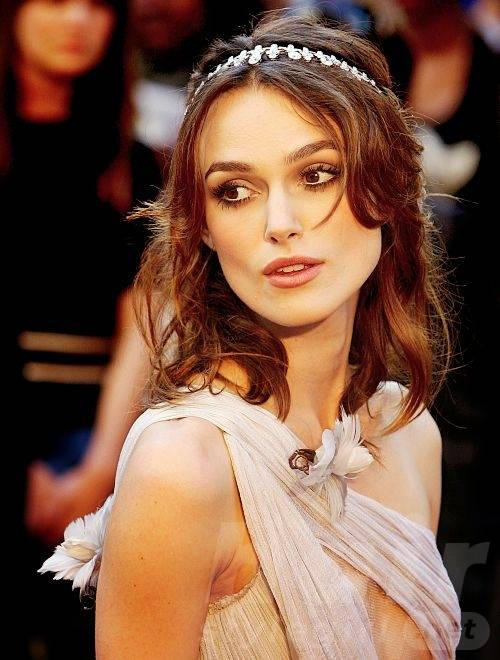 Keira Knightley Hair - Long Wavy Hairstyle With Headband