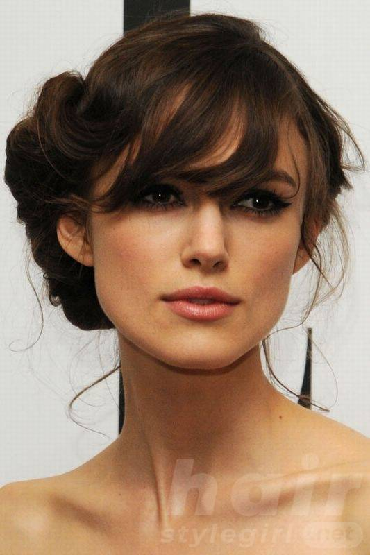 Keira Knightley Hair - Side Up-do Hairstyle