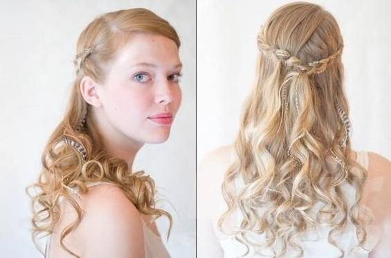 bridesmaids hairstyles for long hair tutorials