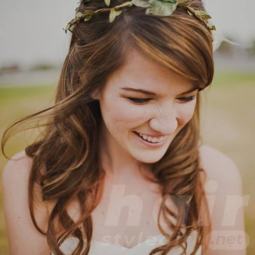easy bridesmaids hairstyles for long hair