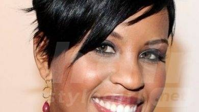 Short Black Hairstyle with Bangs for Black Women 2014