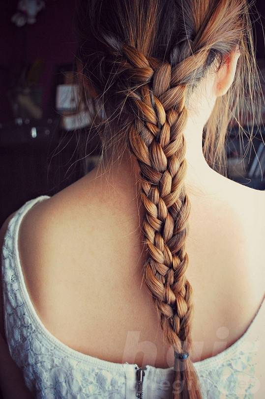 Beautiful Triple Braid for Women - Braided Hairstyles for 2014