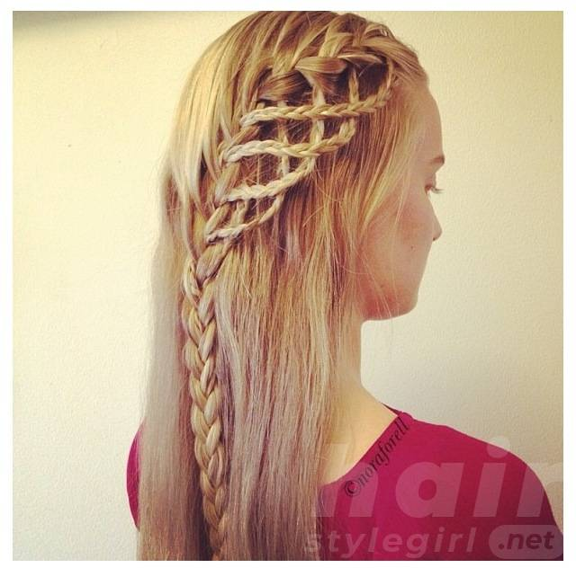 Braid for Girls - Amazing Braided Hairstyle for Long Hair