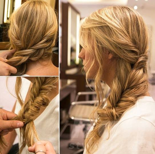 Chic Side Braid - 2014 Best Hairstyles for Summer