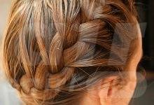 Side French Braid - How to do an Elegant Side French Braid