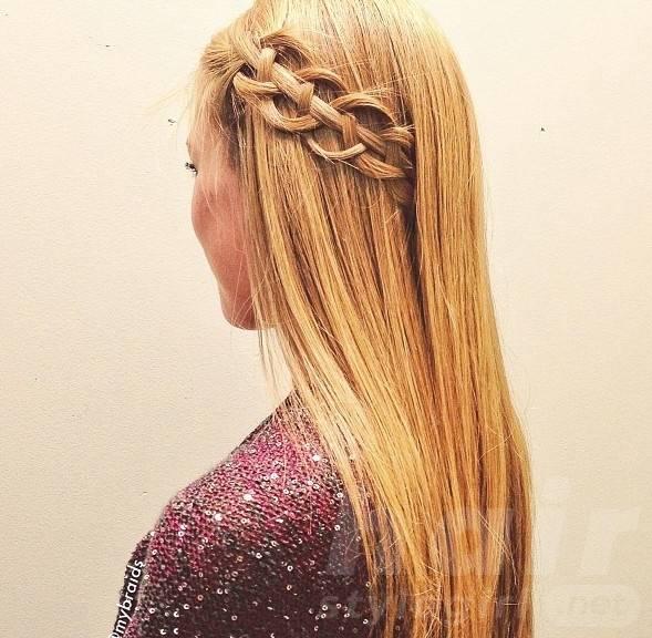 Vine Braid - Cute Braided Hairstyle for Girls