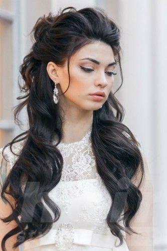 long-black-wedding-hairstyle