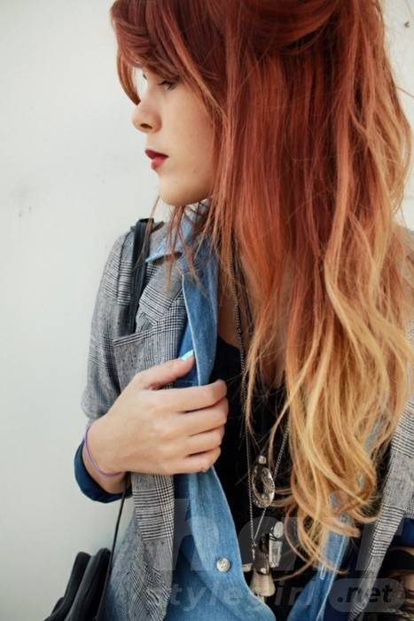 Ombre Hair Ideas For Long Wavy Hair