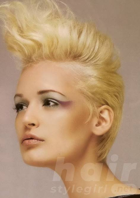 Cool Stylish Blonde Punk Hairstyles