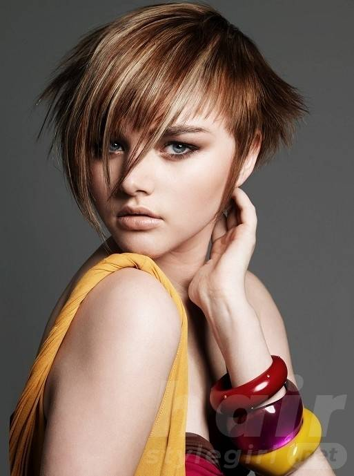 Modern Punk Hairstyles for Short Straight Hair