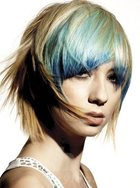 Short Straight Punk Hairstyles for Female