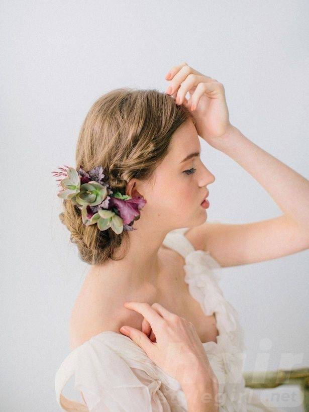 Wedding Hairstyle Flowers