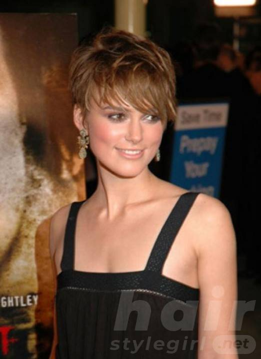 Short Hairstyles with Choppy Bangs